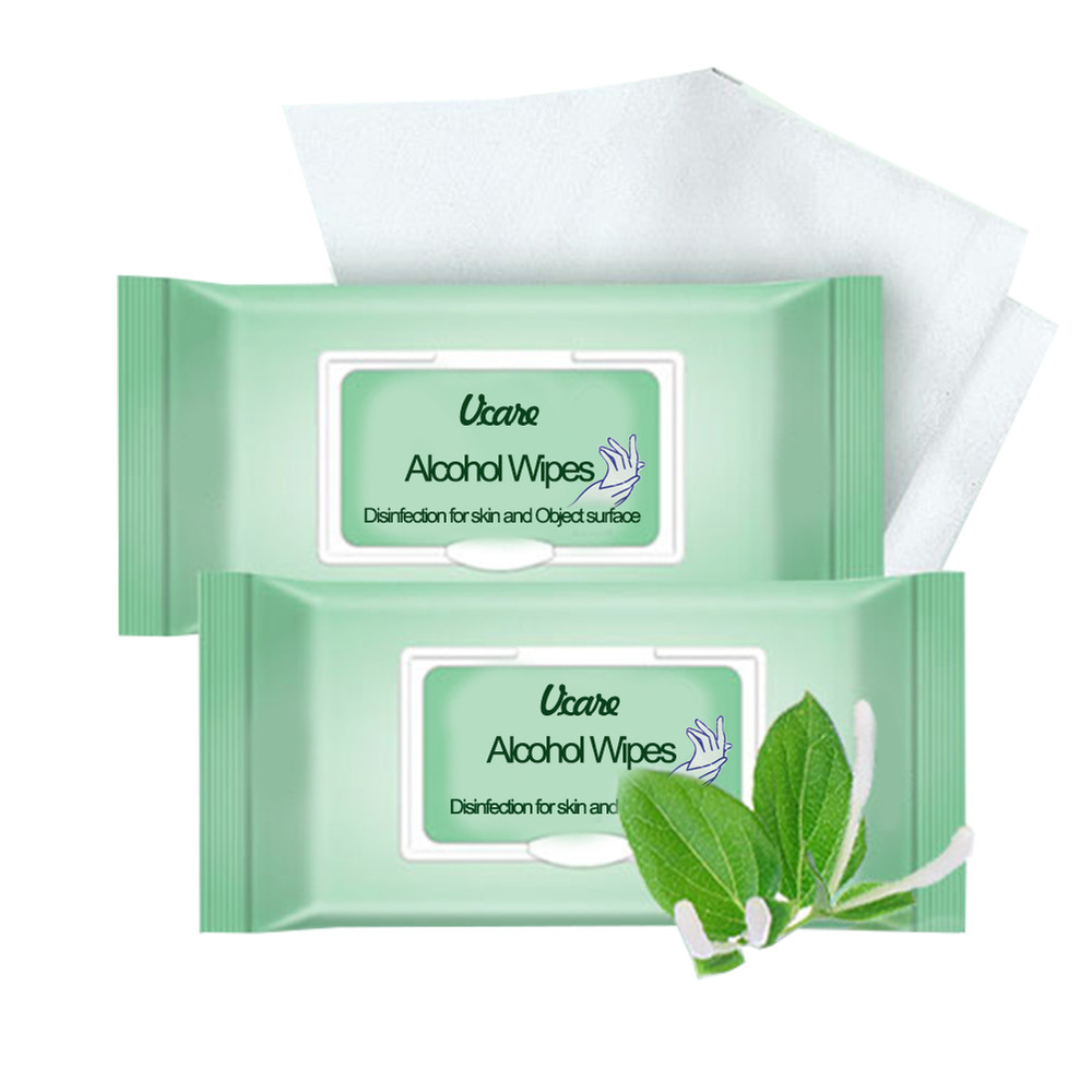 Wholesale Individually Wrapped Antibacterial 75% Alcohol 75% Alcohol Wipes