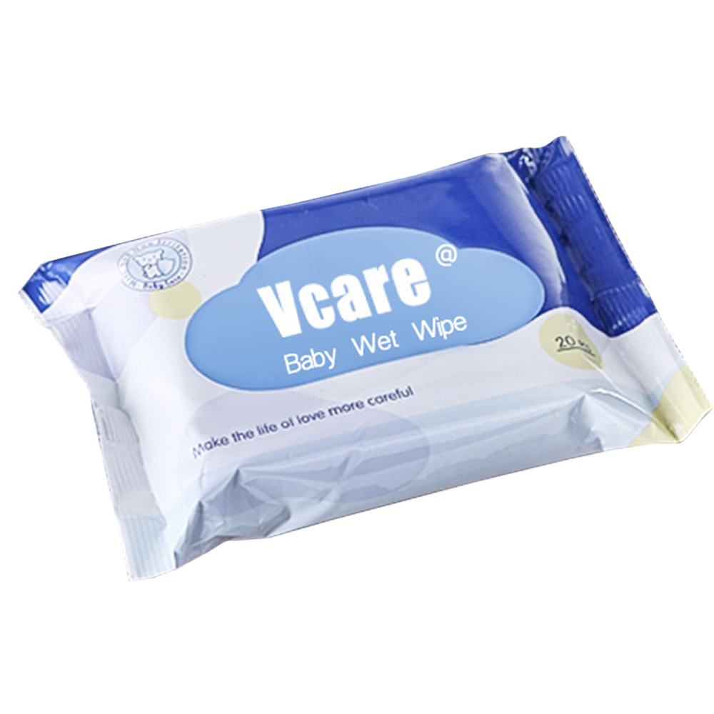Eco Friendly Biodegradable Baby Wipes, Water Wipes Babies 99.9 Pure Water Design in China