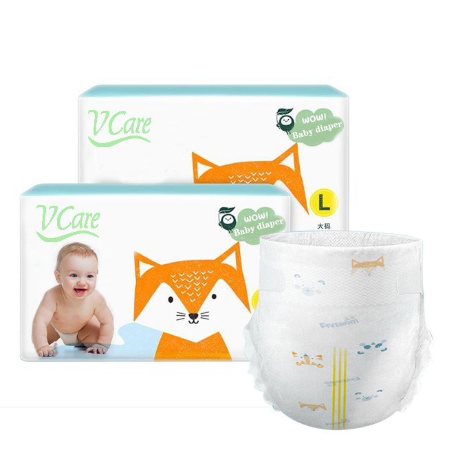China Wholesale Manufacturer Of Disposable Diapers For Baby Diapers