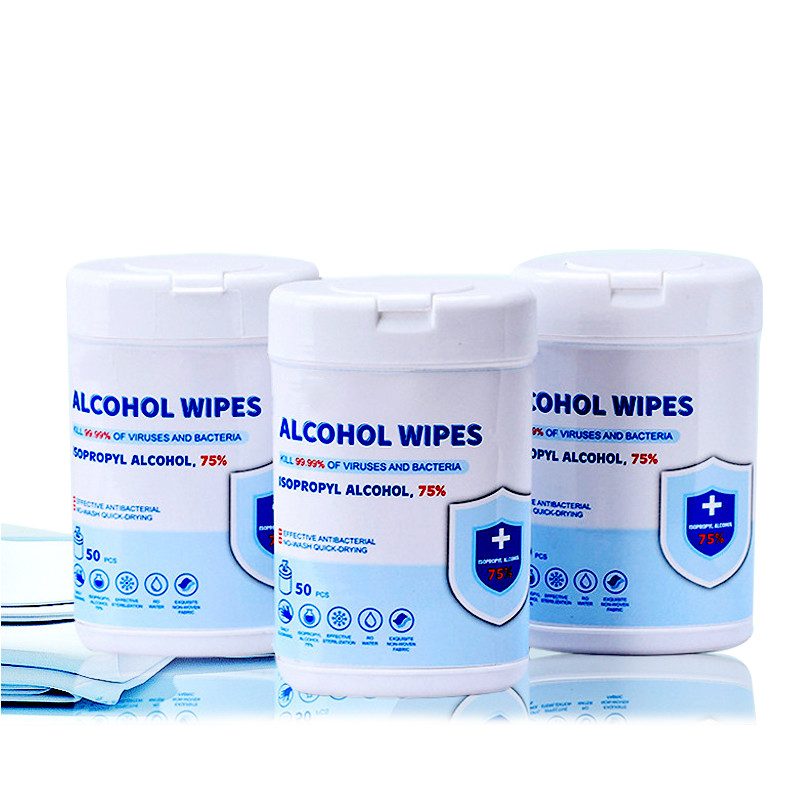 Wholesale Non Woven Wipes, Individually Wrapped Wet Wipes Natural