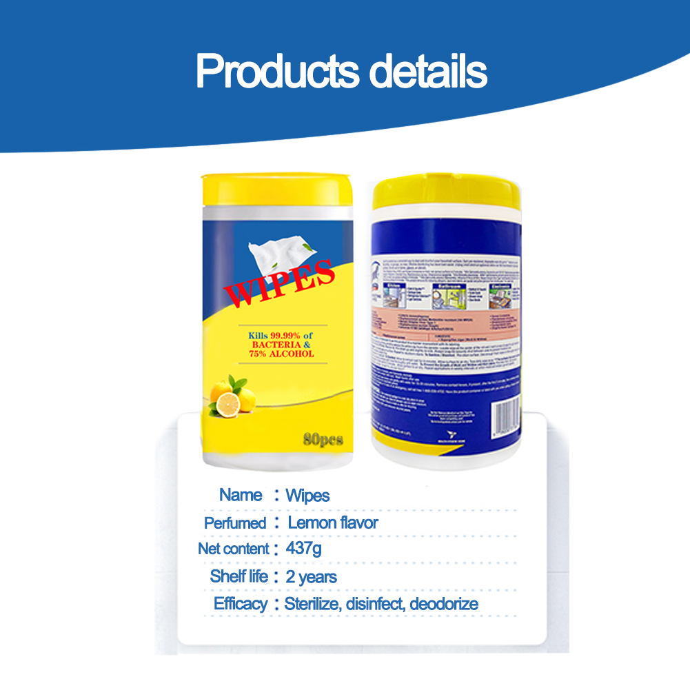 V-Care alcohol free wet tissue wipes company for adult-2
