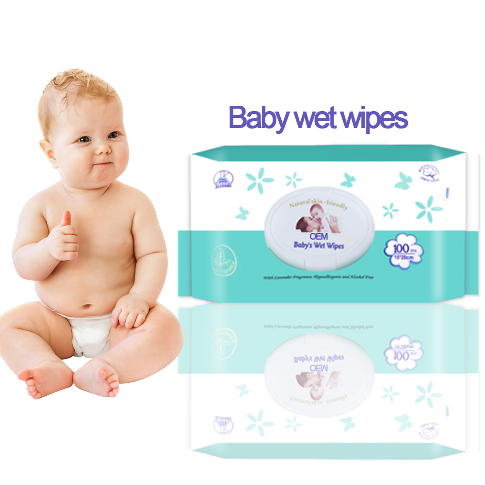 Skin Friendly Baby Cotton Wipes Wholesale Factory In China