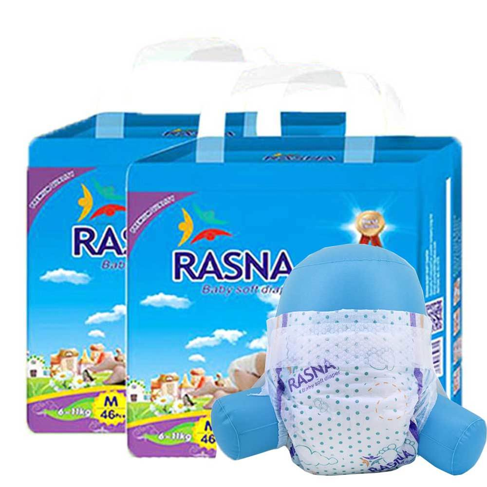 RASNA Baby's Breath Diaper Specification In South Africa