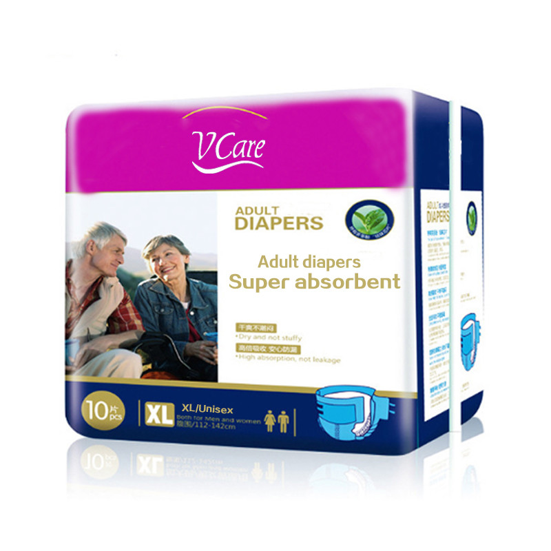 New Adult Disposable Diapers With High Water Absorption Capacity, High Absorption Adult Diapers XXL