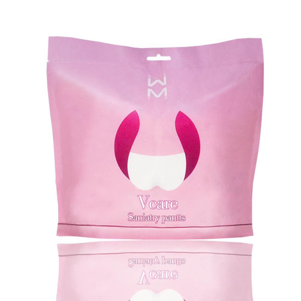 Wholesale Disposable Women's Sleep Warm Sexy Menstrual Pants, Disposable Period Pant Pad