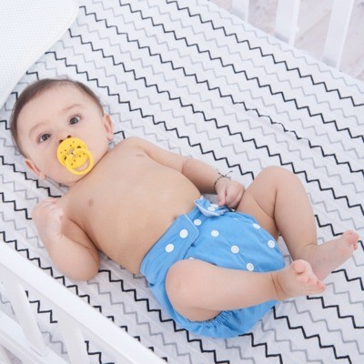 Wholesale Price Baby Nappy Reusable Organic Cotton Diaper, Newborn Baby Cloth Diapers Washable