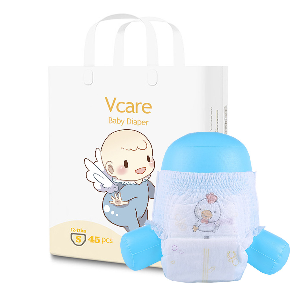 Private Label Disposable Organic Newborn Pure Cotton Baby Diapers Manufacturer In America