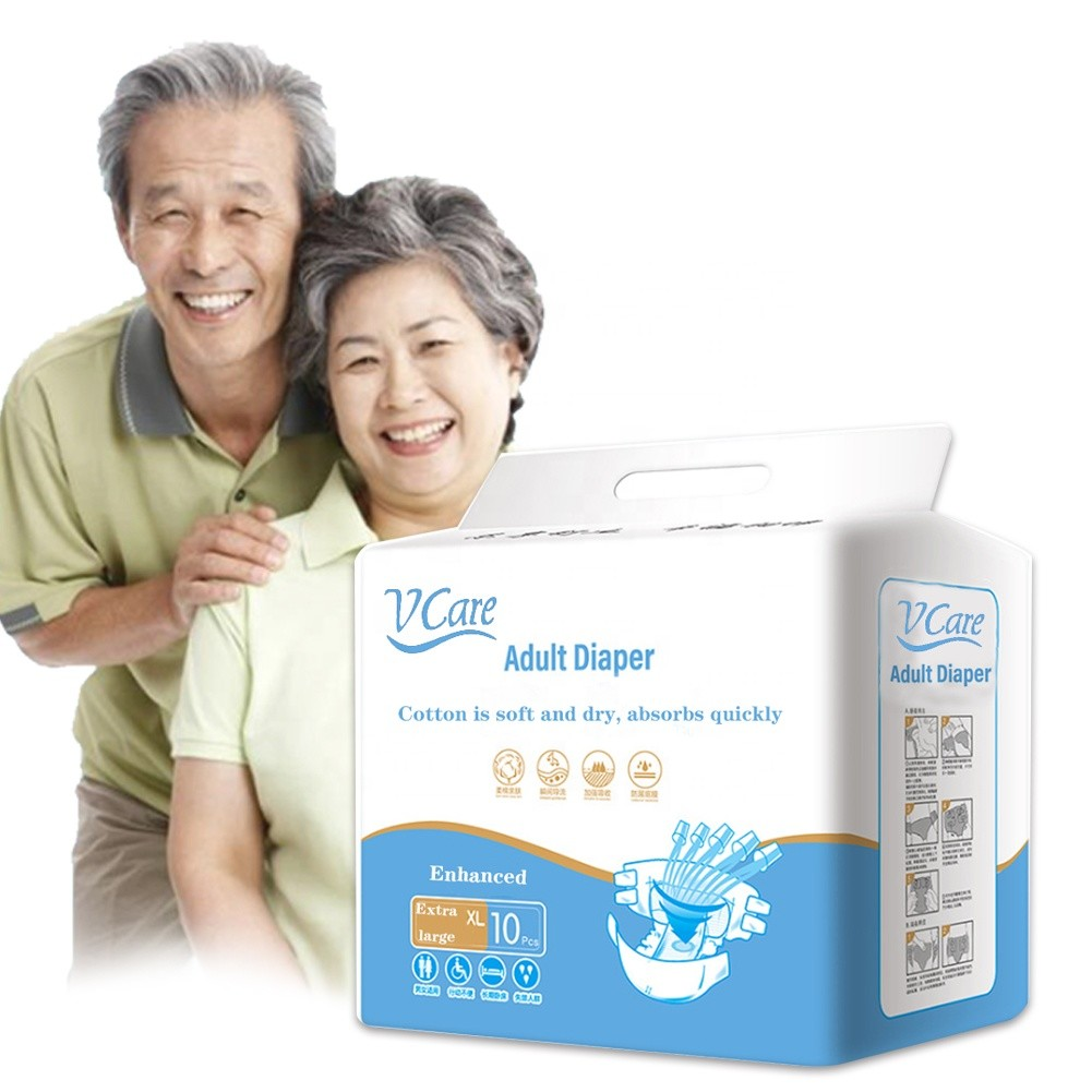 High Quality Adult Incontinence Plastic Pants Diaper Manufacturer Provides Diapers XL For Parents