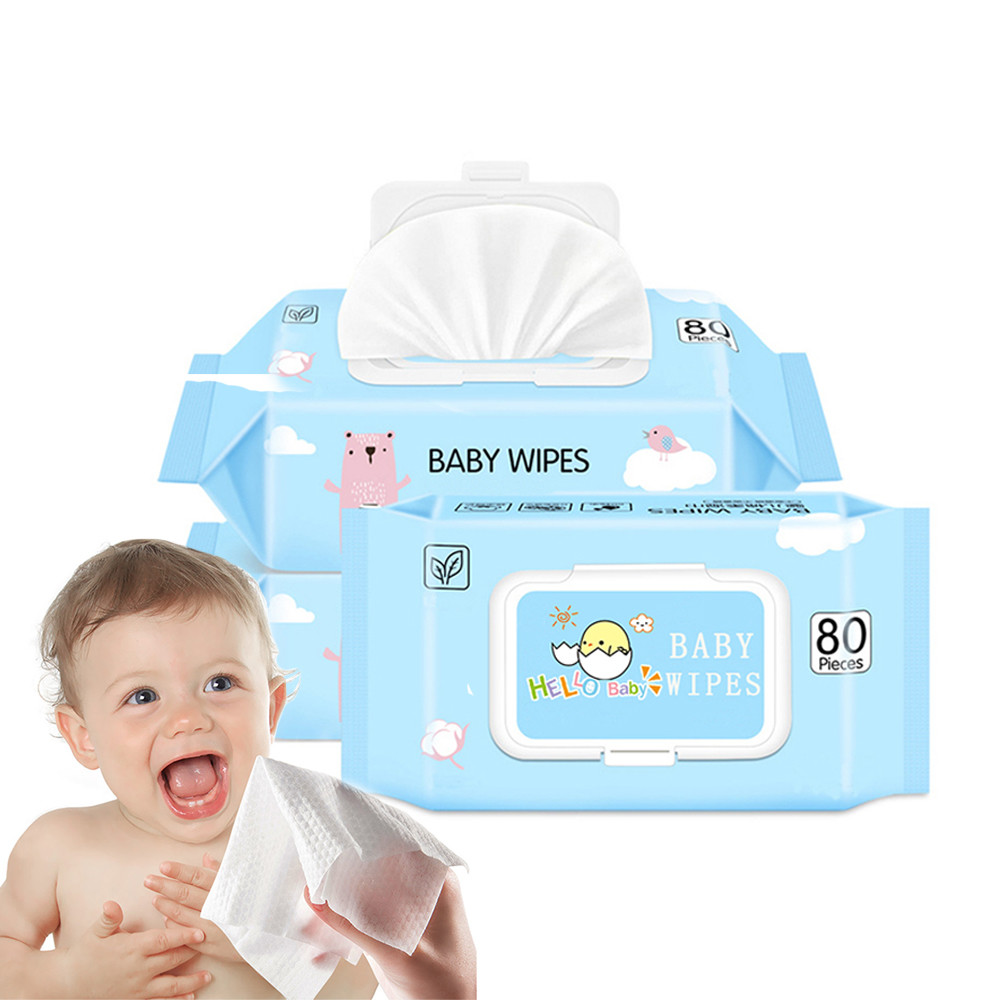 Flushable Baby Wet Wipes Biodegradable, Oem Wipes Wet For Baby