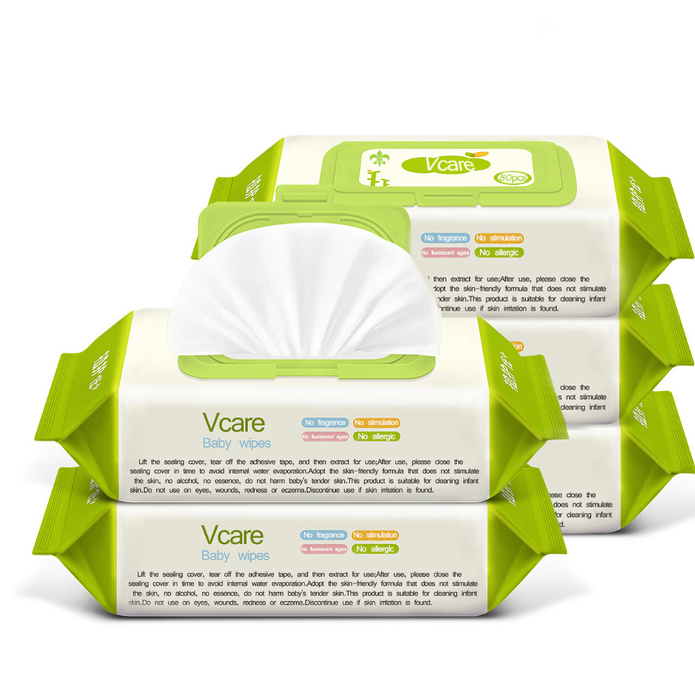 Plant Essence Wet Wipes Logo Production Line, Wet Wipes OEM (plastic box)