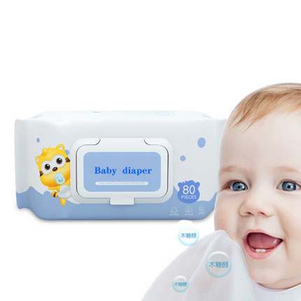 Wholesale Gentle Ingredients Baby Wipes, Weak Acid PH Value Wet Wipes