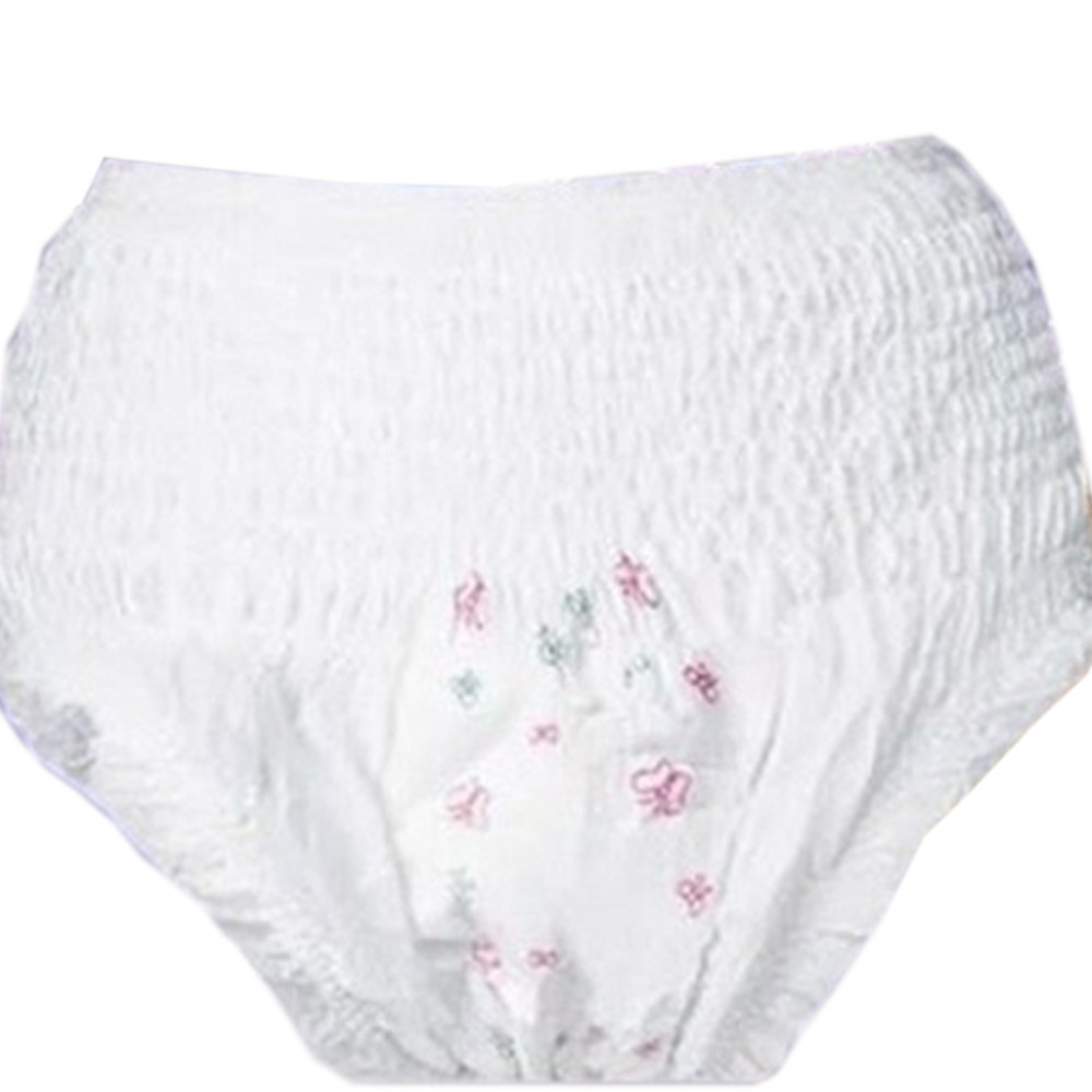 Disposable Biograderable New Style Menstrual Pants With Disposable Inbuilt Pads For Ladies