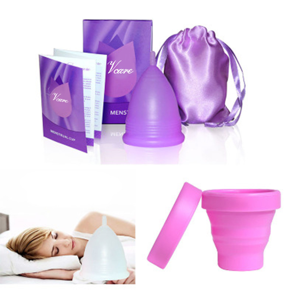 Free Sample Menstrual Lady Cup Organic Washable Protect