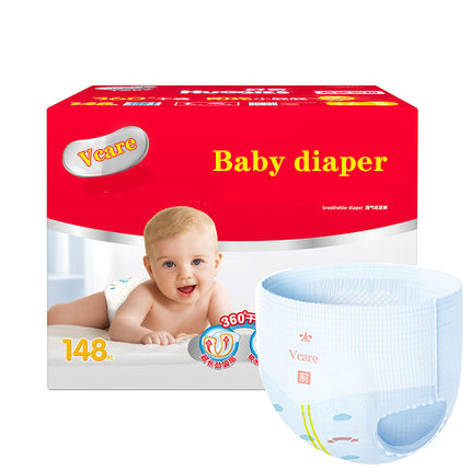 Diaper factory offer custom Disposable baby diaper stocklot cheap price wholesale A baby diaper manufacturer in bulk