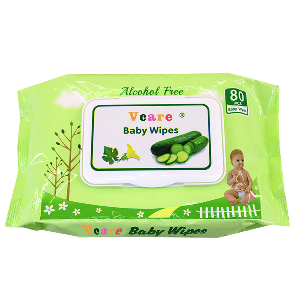 Flushable Baby Wet Wipes Biodegradable, Oem Wipes Wet For Baby 1 buyer
