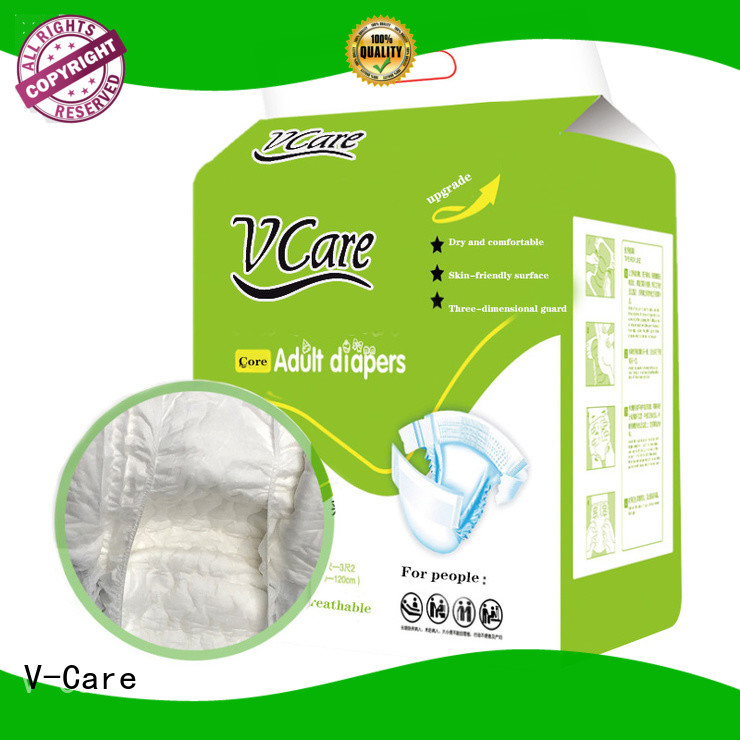 V-Care comfortable adult diapers suppliers for sale