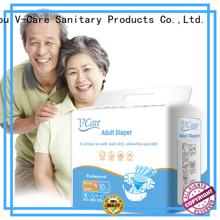 V-Care top adult diapers manufacturers for sale