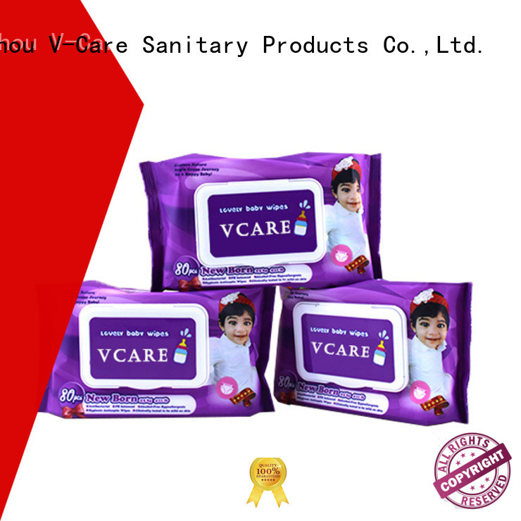 V-Care bulk wet wipes company for baby
