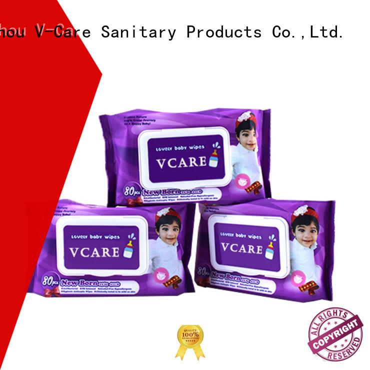 V-Care bulk wet wipes company for baby