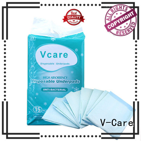 V-Care high-quality underpad supply for old people
