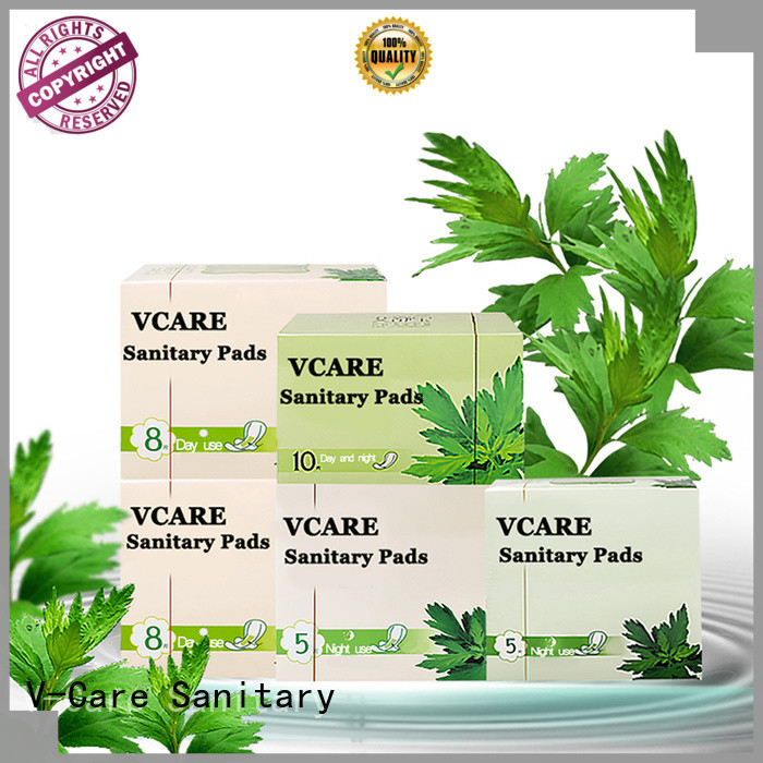 V-Care custom best sanitary towels suppliers for women