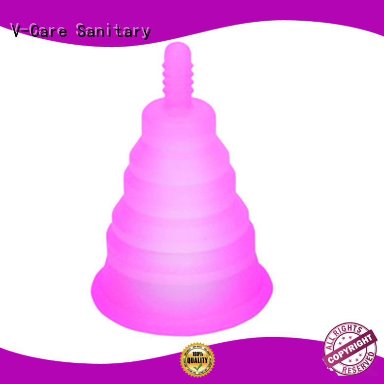 V-Care factory price period menstrual cup supply for women