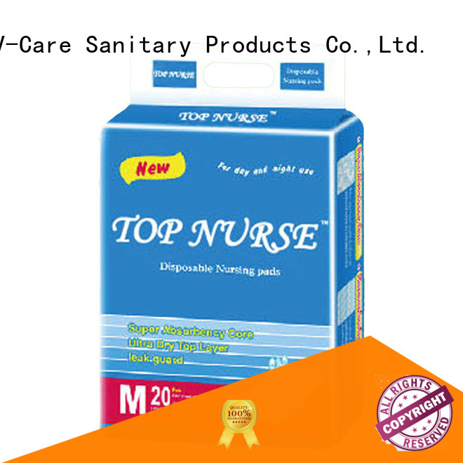 V-Care disposable underpads suppliers for nursing
