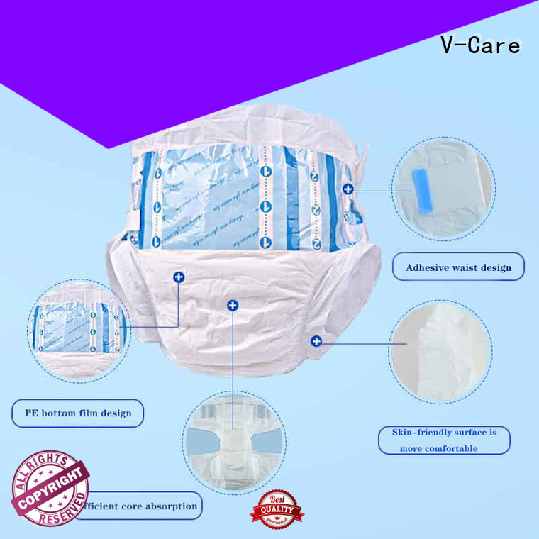 V-Care wholesale adult disposable diapers manufacturers for men