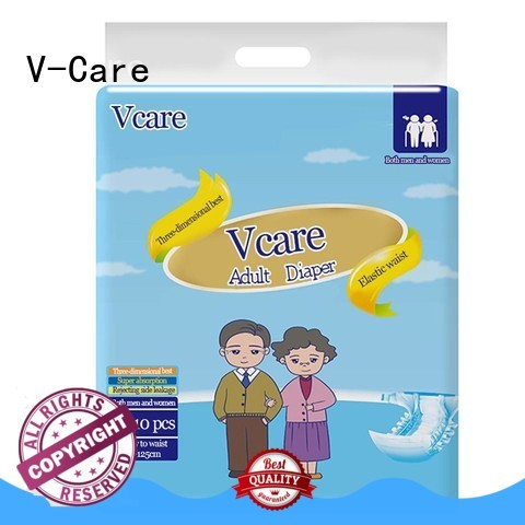 V-Care absorbency best adult pull ups factory for business
