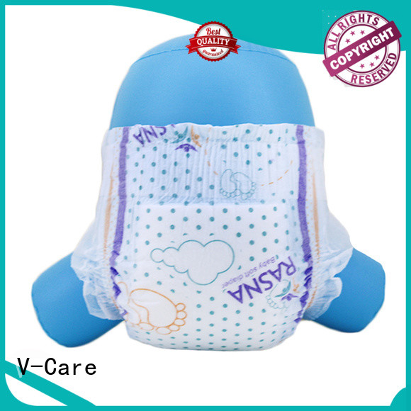 V-Care best infant diapers manufacturers for sale