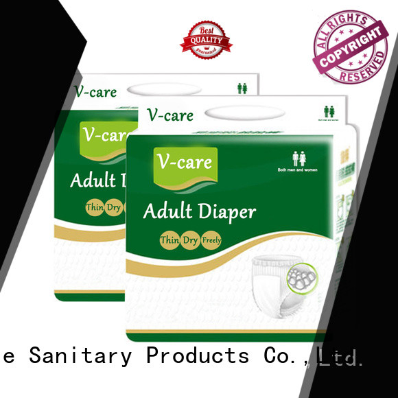 V-Care absorbency adult pull ups with free samples for sale