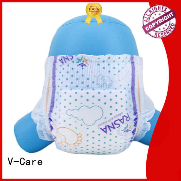 V-Care high-quality baby nappies company for sleeping