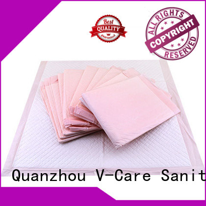 V-Care custom underpad sheet company for old people
