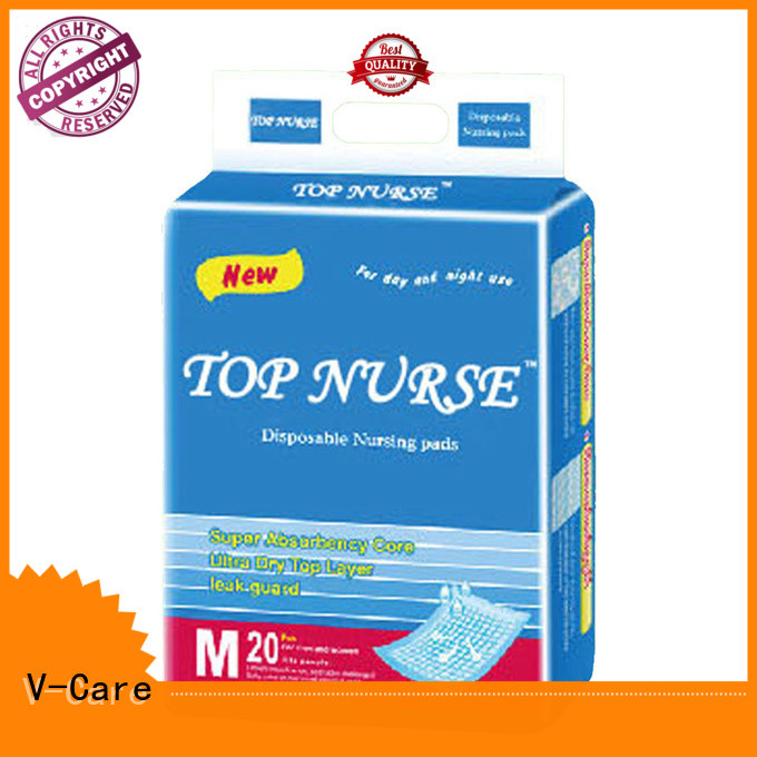 V-Care latest disposable underpads company for sale